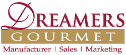 Dreamers Gourmet Logo with tag line