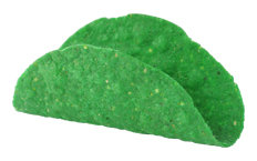 Dreamers Gourmet Gluten Free Mini Taco Shell Gluten Free Green Mini Taco Shell - 516